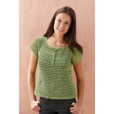 New Crochet Summer Tops Lion Brand Ideas Crochet Lion, Crochet Baby Cocoon, Crochet Amigurumi Free Patterns, Crochet Woman, Crochet Baby Hats, Crochet Blanket Patterns, Free Crochet, Irish Crochet, Free Knitting