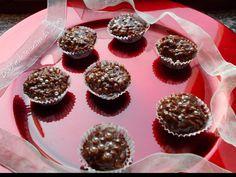 Dolci note in cucina da Simo: Dolcetti mandorlati al cioccolato Mini Cupcakes, Muffins, Follower, Breakfast, Desserts, Food, Cribs, Almond, Kitchens