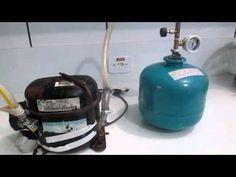 Biodigestor portátil: Produção e uso de biogás a partir de resíduos domésticos. - YouTube