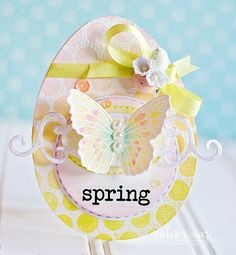 Spring! - Gorgeous spring or Easter card!