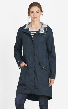Seasalt Cornwall Hellweathers Mac Regenjacke Orca Blau #hanseheld #seasalt #regenjacke #blau #fashion