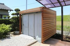 木材をふんだんに使用したプライベートガーデン | 施工例 | 浜松のエクステリア・外構なら都田建設