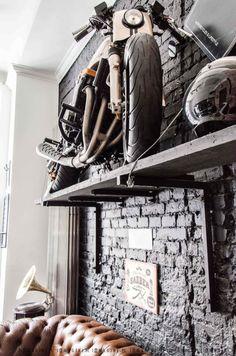 Barber Shop Interior, Barber Shop Decor, Studio Interior, Shop Interior Design, Spa Design, Rock Design, Salon Design, Casa Loft, Garage Furniture