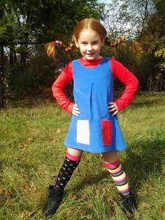 Costumes! - Pippi Longstockings!