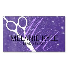 22 best order business cards online images on pinterest business order chic glitter hair stylist scissors business cards chic glitter hair stylist scissors reheart Choice Image