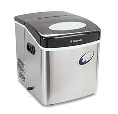 "Product Features17""H X 15""W X 17""DDometic Portable Ice MakerDometic Portable Ice Maker Makes 33 Lbs. of Ice Every 24 Hours This amazing appliance can make ice in under fifteen minutes. It is ideal for entertaining friends and family and it's fun! You can use at home, in your camper, or anywhere else you would need[...]"