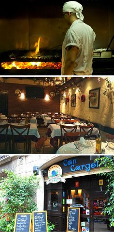 Restaurante Can Cargol - Barcelona - Restaurantes para Cenas de Empresa Navidad