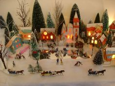 Love this site for, among other things, pictures of Putz house displays sent in by collectors
