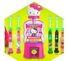 firefly :: hello kitty toothbrush & mouthwash :: review + giveaway