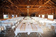 Springhill Pavilion in Bozeman, MT is the perfect place for a country chic #MontanaWedding ! Notarius Photography