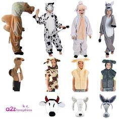 Childs Sheep Fancy Dress Lamb Tabard Farm Animal Book Day Week Xmas Nativity New