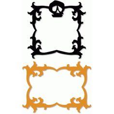 Silhouette Design Store: spooky frames