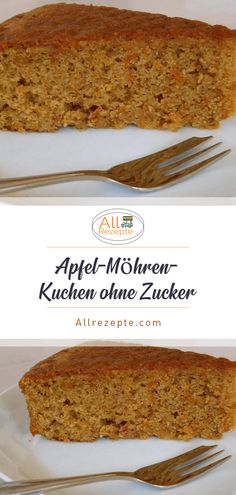 Apfel-Möhren-Kuchen ohne Zucker – All Rezepte The Effective Pictures We Offer You About Baby Food carrots A quality picture can tell you many things. Easy Baking Recipes, Healthy Dessert Recipes, Easy Desserts, Baby Food Recipes, Smoothie Recipes, Carrot Recipes, Easter Recipes, Dinner Recipes, Dessert Simple