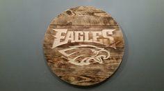 Philadelphia Eagles Sign / Plaque by StCroixRoutingDesign on Etsy