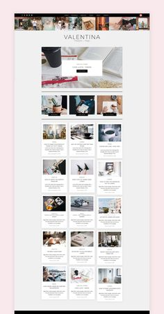 Valentina A WordPress Theme for Bloggers - Responsive WordPress Template - Responsive WordPress Theme - WordPress Blog Template. Easy installation allows you to start post blogs immediately after the activation. Perfect choice for your personal blog, corporate blog, marketing blog, authority blog or any type of creative blog. #wordpress #theme #creativeblog
