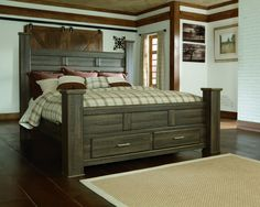 guest rooms payson king size bed - King Size Bed With Storage