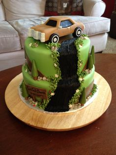 Mustang Cake One Day Down The Road Pinterest Mustang Cake