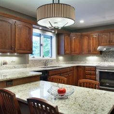 Reconfigured the ann arbor kitchen which required four new cabinets