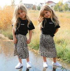 Kids Outfits Girls, Cute Outfits For Kids, Toddler Girl Outfits, Toddler Fashion, Kids Fashion, Girl Toddler, Baby Kind, Cute Baby Girl, Cute Babies