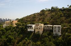 houses perched on the sides of the hills, Laurel Canyon