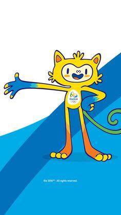 Vinicius - Rio Olympics 2016 Mascot  🏅