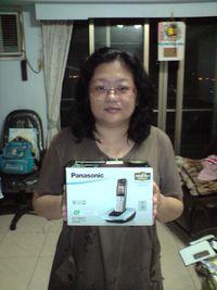 Panasonic 國際牌 DECT 數位無線電話 KX-TG6411【銀】,得標價格86元,最後贏家cheng3821:很開心可以順利得標,謝謝各位的禮讓,也謝謝快標網