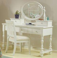 Olivia Vanity Set in Soft White $1,019.00