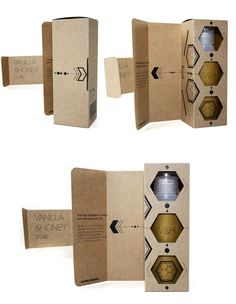 Packaging for cosmetic range on Packaging Design Served