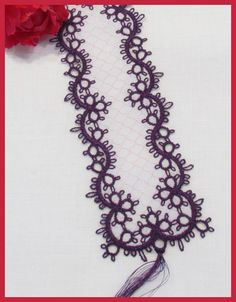 Image detail for -Tatting 67 - Tatted Bookmark Designs by Murphys Designs