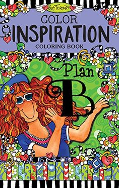 Color Inspiration Coloring Book Plan B Perfectly Portable Pages On The Go By Suzy Toronto Design Originals
