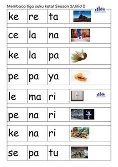 Kindergarten Learning, Preschool Learning Activities, Free Preschool, Kindergarten Worksheets, Reading Worksheets, Worksheets For Kids, Math For Kids, Teaching Materials, Kids Education