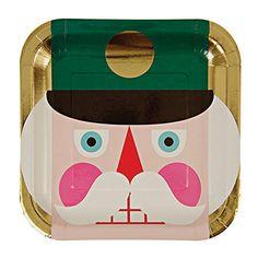"Meri Meri The Nutcracker Large Square 9"" Dinner Plates Holiday Party, 8-pack Meri Meri http://www.amazon.com/dp/B00NBYFPSE/ref=cm_sw_r_pi_dp_iq0dwb1S467PK"