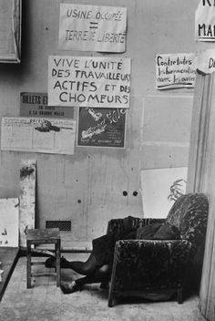 Untitled / Woman Sleeping in Chair (Henri Cartier-Bresson, n.d.)
