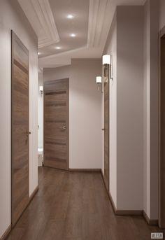 Awesome 30 Astonishing Home Corridor Design For Your Home Inspiration House Ceiling Design, Home Ceiling, House Design, House Paint Interior, Interior Design Living Room, Living Room Designs, Room Interior, Flur Design, Plafond Design