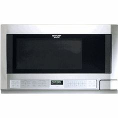 Sharp R1214T 1.5 cu. ft. Over the Counter Microwave Oven 1,100 Watts, Stainless Steel //Price: $ & FREE Shipping  // #home #decor #interior #room #kitchen   #homesweethome #homedesign #myhome