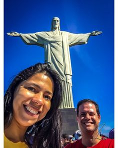 Us and Him... #Brasil #Cristoredentor #iPhone #people #RiodeJaneiro #theredeemer