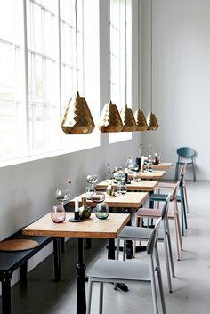 Brass Aston Ceiling Light - Ceiling Pendant Lights - Lighting