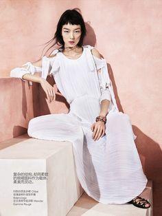 modern romance: fei fei sun by sharif hamza for vogue china may 2014
