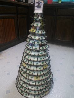 Our Magic: the Gathering card Christmas tree! :)