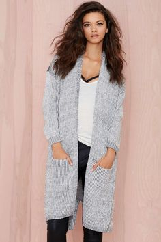 Caila Oversized Cardigan | Shop Clothes at Nasty Gal