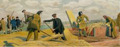 Threshing, Kent  Evelyn Mary Dunbar (1906–1960)  Government Art Collection