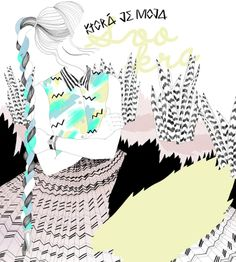 Svokra by Alica Gurinova, via Behance Speak Fluent English, Owl Illustration, Animation Film, Creative, Artwork, Illustrator, Beautiful, Work Of Art, Auguste Rodin Artwork