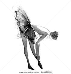 Ballet Illustration Fotos, imagens e fotografias Stock | Shutterstock