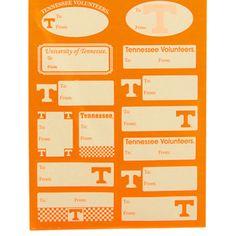 Tennessee Volunteers 14-Pack Gift Labels - $2.99