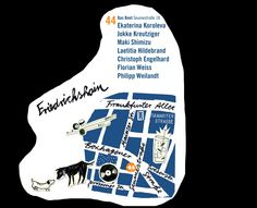 Map Friedrichsheim by Doro Petersen and Ulrike Zimmer