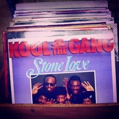 Isn't our Kool & The Gang #LP cool?  Come check all the nice vinyls-props we have here at #BCStokyo!