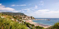 NUMANA - Panorama della Riviera (Ancona-Marche)