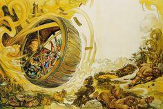josh kirby - treadwheel in hell