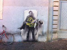 Trastevere, Roma #Mural #hablan