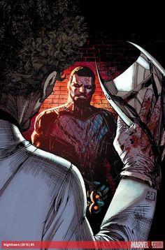 Nighthawk (2016) #5GUERRA CIVIL II TIE-IN! Es el Soldado de Invierno frente a Spider-Man y sólo uno de ellos va a alejarse.